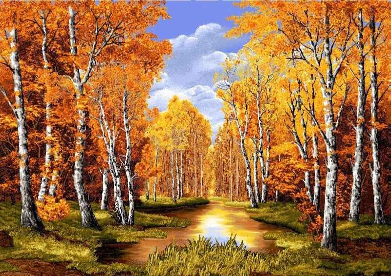 Сочинение осень золотая волшебница
